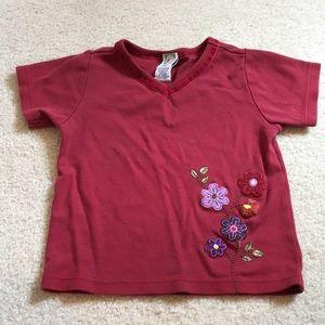 Gymboree Shirts & Tops - Embroidered Gymboree T-shirt